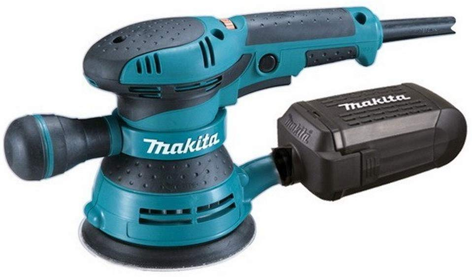 Use Makita orbital sander to restore your coffee table